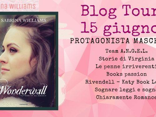 BLOG TOUR: WONDERWALL -PROTAGONISTA MASCHILE